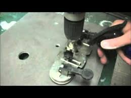 5 35mm diamond hole set drilling into porcelain tiles youtube