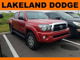 100 Used Toyota Tacoma Trucks For Sale 2011 PreRunner 3TMJU4GN0BM115232 Lakeland
