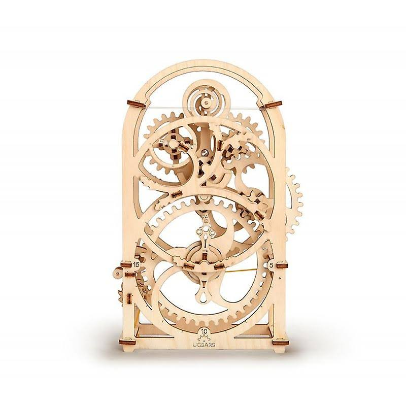 Ukrainian Gears Timer Mechanical 3D Puzzle Construction Set