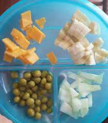 Simple Meal Ideas For One Year Olds Cheese 1 2 Banana Canned Peas Cucumber