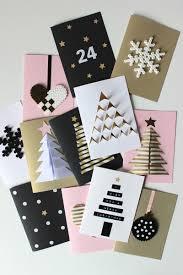 carte de vœux pour noël 55 idées à fabriquer à la maison decoration