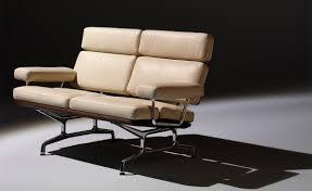 Eames Compact Sofa Herman Miller by Eames 2 Seat Sofa Hivemodern Com