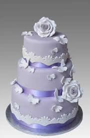 Purple Wedding Cakes Ideas Nontraditional Decorations And Creations By Laura Round