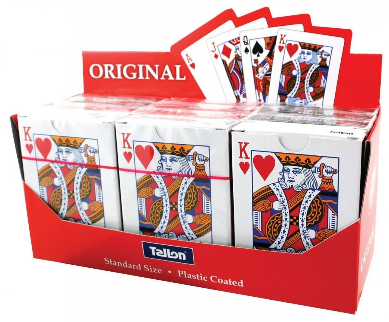 Tallon Playing Cards Plastic Coated