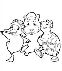 Wonder Pets Coloring Pages