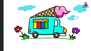 How To Draw Ice Cream, Truck, Coloring Pages For Kids | Nursery ... Ice Cream Truck By Sabinas Graphicriver Clip Art Summer Kids Retro Cute Contemporary Stock Vector More Van Clipart Clipartxtras Icon Free Download Png And Vector Transportation Coloring Pages For Printable Cartoon Ice Cream Truck Royalty Free Image 1184406 Illustration Graphics Rf Drawing At Getdrawingscom Personal Use Buy Iceman And Icecream