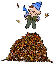 Jumping In Leaves