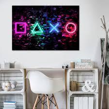 vlies leinwand deko bilder playstation wandbilder