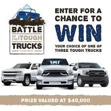 The Battle Of The Tough Trucks Contest... - Castle Building Centres ...
