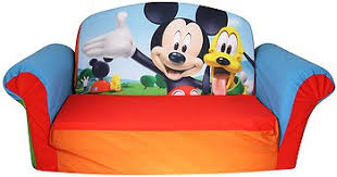 mickey mouse flip open sofa with slumber centerfordemocracy org