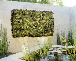 Living Wall In Garden