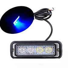 4 LED Blue Waterproof 4LED Warning Beacon Emergency Car Truck ... 75 36w Led Light Bar For Cars Truck Lights Marine High Quality 4 Led Car Emergency Beacon Hazard 50inch Straight Led Light Bar Mounting Brackets Question Jeep Cherokee Forum Inchs 18w Cree Light Bar Work Spot Lamp Offroad Boat Ute Car Double Side 108w Beacon Warning Strobe 6 Smd Work Reversing Red 15 11 Stop Turn Tail 3rd Brake Cheap Rooftop Better Than Stock Lights Toyota Fj 18 108w Cree 3w36 8600lm Off Road Atv