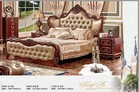 leder royal luxus geschnitzten bett rahmen antike neue klassische italienische provinz kaufen schlafzimmer möbel set truthahn stil buy