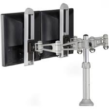 Desk Mount Monitor Arm Philippines by Humanscale M7 Dual Lcd Monitor Arm For Desk Mount Or Wall With