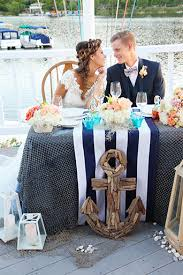 Westlake Yacht Club Outdoor Beach Wedding With A Nautical Theme Bride Lace Line Gown