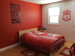Soccer Themed Bedroom Photography by Liverpool Fc Bedroom Just Missing The Curtains Finley U0027s Bedroom