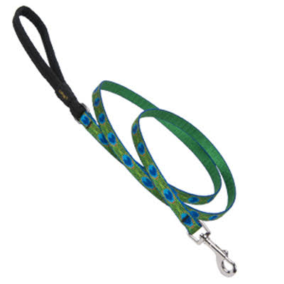 Lupine Tail Feathers Dog Lead - 1/2 in x 6 ft
