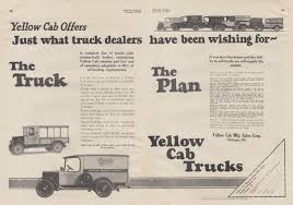 100 Truck Dealers Just What Truck Dealers Have Been Wishing For Yellow Cab S Ad 1925