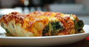 cuisine italienne recette cannelloni ricotta et épinards la cuisine italienne