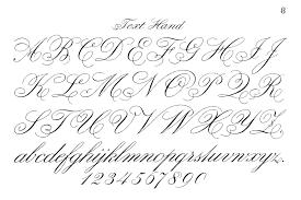 Typography Printable Fancy Script Monograms