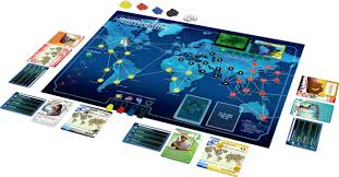 Pandemic Board Game Contents Image From Z Man Games