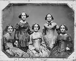 The Clark Sisters Coven In 1850 From Ian Birnbaum Blog I Found His Comment That They Were Sexy To Be Curious Since Certainly Not