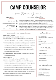Camp Counselor Resume Sample & Tips | Resume Genius High School Resume 2019 Guide Examples Extra Curricular Acvities On Your Resume Mplate Job Inquiry Letter Template Fresh Hard Removal Best Section Beefopijburgnl Cover For Student 8 32 Cool Co In Sample All About Professional Ats Templates Experienced Hires And College For Application Of Samples Extrarricular New Professional Acvities Sazakmouldingsco Career Center Rochester Academy