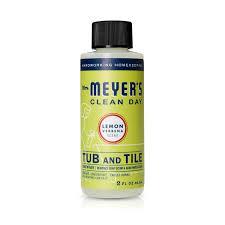 mrs meyer s tub and tile concentrate lemon verbena 2 oz 2 pack