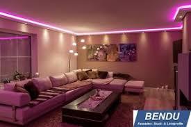 details zu led stuckleisten lichtvouten indirekte beleuchtung wand decke profile wohnzimmer