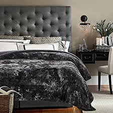 Amazon Cathay Home Lofty Luxe Faux Fur Blanket King Caramel