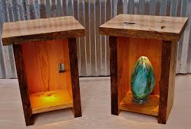lighted end tables living room furniture home design ideas