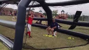 InmotionAir - Inflatable Batting Cages - Softball & Baseball ... Best Dimeions For A Baseball Batting Cage Backyard Cages With Pitching Machine Home Outdoor Decoration Building Seball Field Daddy Made This Logans Sports Themed Fortress Ultimate Net Package World Jugs Sports Softball Frames 27 Ply Hdpe Multiple Youtube Lflitesmball Dealer Installer Long Academy Artificial Turf Grass Project Tuffgrass 916 741 How To Use The Most Benefit
