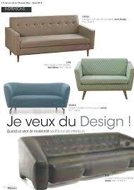 l univers du canapé article canapé nub dans le magazine l univers de la maison
