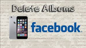 How to delete Albums on