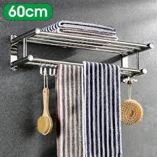 2tier wand handtuchhalter bad hotel schienenhalter