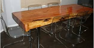 For One DIYer Her Dream Dining Room Table Was Hiding Right Inside This Juniper Tree