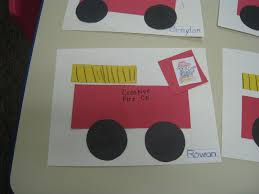 Fire Truck Arts And Crafts Preschool, Fire Truck Videos For Toddlers ...