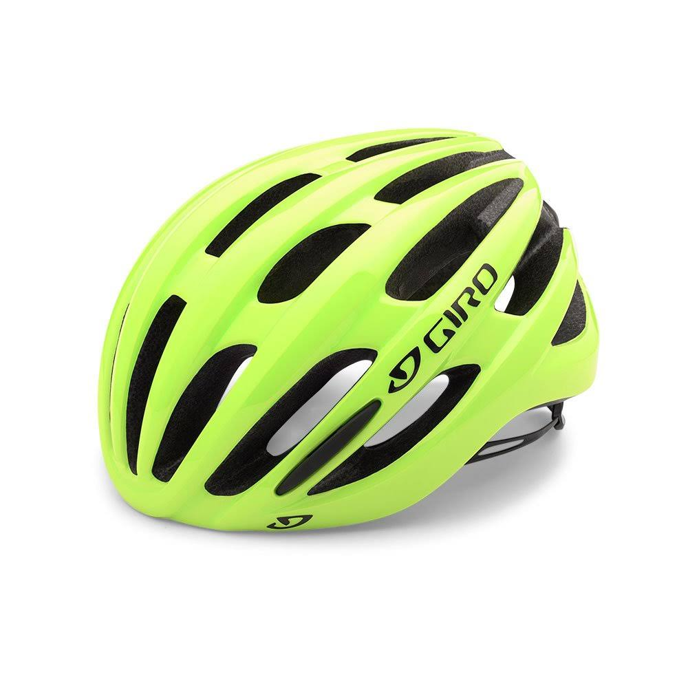Giro 2017 Foray Road Cycling Helmet - Medium, Highlight Yellow