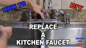 Diy Kitchen Faucet How To Replace A Kitchen Sink Faucet