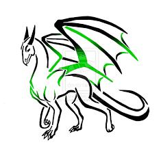 Tribal Fire Dragon Tattoos Designs Clipartsco 900x822