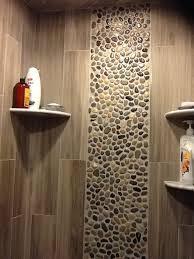 glazed bali pebble tile shower wall accent subway tile outlet