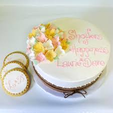 4262 Hydrangea Rustic Cake