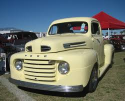 File:1950 Ford F-1 Pickup Truck.jpg - Wikimedia Commons Jeff Davis Built This Super 1950 Ford F1 Pickup In His Home Shop Truck With An Audi Rs6 Powertrain Engine Swap Depot 1950s Ford For Sale Ozdereinfo The Color Urbanresultvehicle Pinterest Farm New Of 36 Craigslist Stock Drop Dead Customs My F1 4x4 Wheels And Trucks Review Rolling The Og Fseries Motor Trend Canada 1948 1949 Ford Truck Cabover Glass Classic Auto New Pickup Sri Bad Ass Street Car Spotlight Drag Youtube