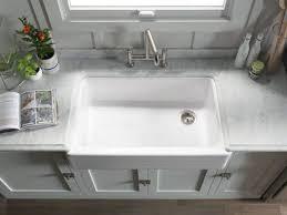 Kohler Hartland Sink Rack by Kitchen Sinks Cool Kohler Stainless Kitchen Sink American