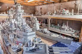 Lego Ship Sinking 3 by Man Spent Three Years Building U0027world U0027s Biggest U0027 Lego Model Of