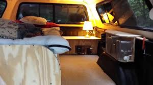 LUXURY TRUCK CAP CAMPING - YouTube