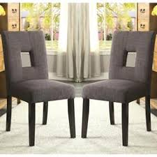 Parsons Dining Chairs Upholstered by Upholstered Skirted Parsons Chair
