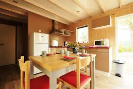 chalet cuisine chalet premium 6 persons chalet island of oleron charente