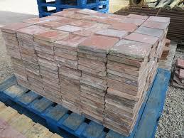 reclaimed terracotta quarry floor tiles