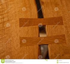 butterfly key joint fine woodworking stock photo image 46782554